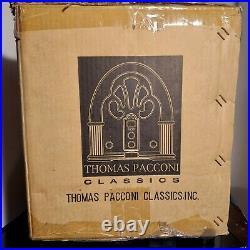 Thomas Pacconi Classics Cherry Wood Jewelry Box Chest Lift Top 7 Drawers NIB New