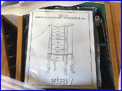 Thomas Pacconi Classics Free Standing Jewelry Armoire Oak