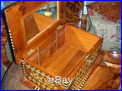 Thuya Jewelry Boxes Big Size Handcrafted From Morocco thuja