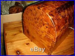 Thuya Wood Jewellery Box Memory Box handmade Mexican style