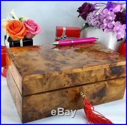 Thuya wooden jewelry box Gift, handmade well finished Jewellery storage wood