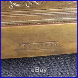 Tiffany & Co Bronze jewelry Casket Dresser Box Bombay / Rococo Design 1920's