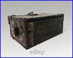 Vargueno Collectors Cabinet Box Casket Jewelry Box Renaissance Revival