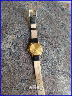 Vintage 18K Gold Lady's Hamilton Watch Spur #440 wood box + Fine Jewelry Watches
