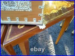 Vintage Jewelry Box Inlaid Micro Mosaic and Bone very fine jewelry box