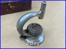 Vintage K&D Special Watch Maker Repair Jeweler Jewelry Staking Tool Set Wood Box