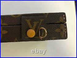 Vintage Louis Vuitton LV Trousse Bijoux Monogram Canvas Jewelry Case Box Trunk