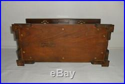 Vintage Stickley Wood Salesman Sample Hope Chest Jewelry Box