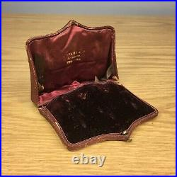 Vintage Tiffany & Co Leather Jewelry Gift Box antique New York