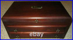 Vintage to Now Estate Jewelry Lot With Wood Eureka Mfg Co Jewelry Box NO JUNK