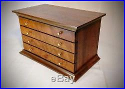 Walnut And Madrone Burl Jewelry Box- Handmade