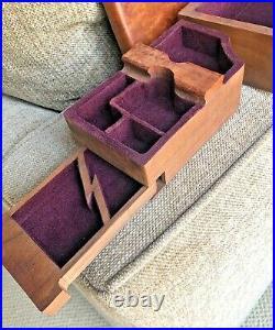 William Deiters Vintage 1994 Burlwood Jewelry Box 2