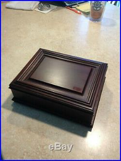 Williamsburg Wooden Virginia Metalcrafters Jewelry Box
