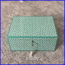Wolf Designs 1970's Large Jewelry Box with lock (Originally $325)