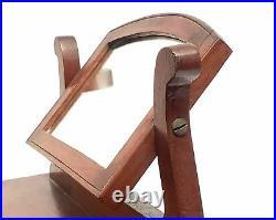 Wooden 16 Replica Dresser with Swivel Mirror Jewelry Keepsake Box