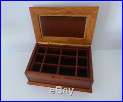 Wooden Jewellery Box Handmade Jarrah, Sheoak & Tuart with removable tray