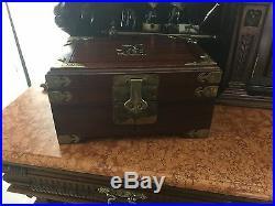 Zen Collectible Jewelry Box Vintage Antique Decor Display